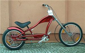 beachcruiser stretch cruiser chopper und custom bikes. Black Bedroom Furniture Sets. Home Design Ideas