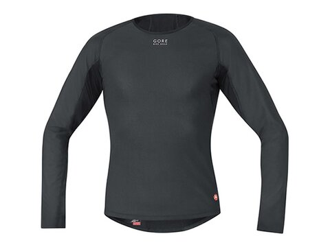 Gore Base Layer WS Thermo Shirt Long, schwarz