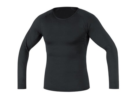 Gore Base Layer Shirt Long, schwarz