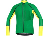 Gore Alp-X Pro WS SO Zipp-Off Trikot, fresh green /...