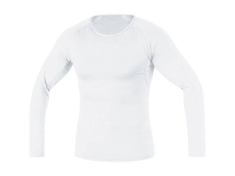 Gore Base Layer Shirt Long, weiss