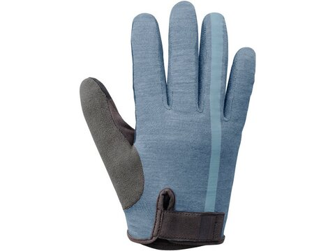 Shimano Handschuhe Transit Long Gloves blau / XL