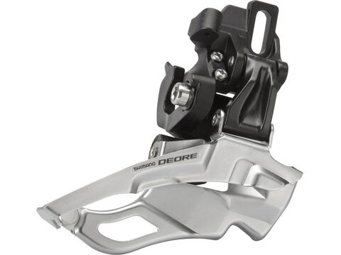 Shimano Umwerfer Deore FD-M611 3x10s Down Swing Dual Pull